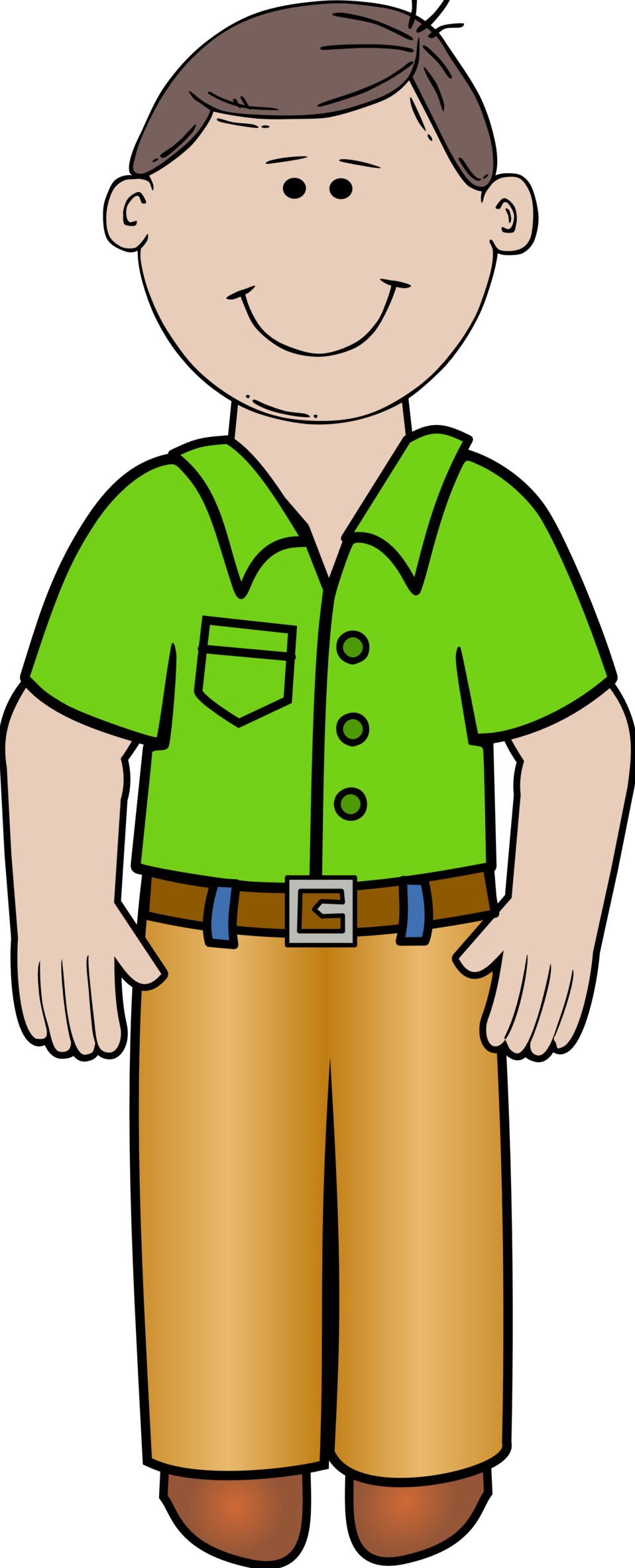 Public domain clip art. Working clipart working dad