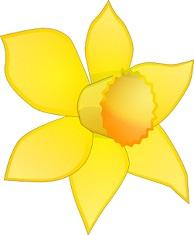 Free. Daffodil clipart