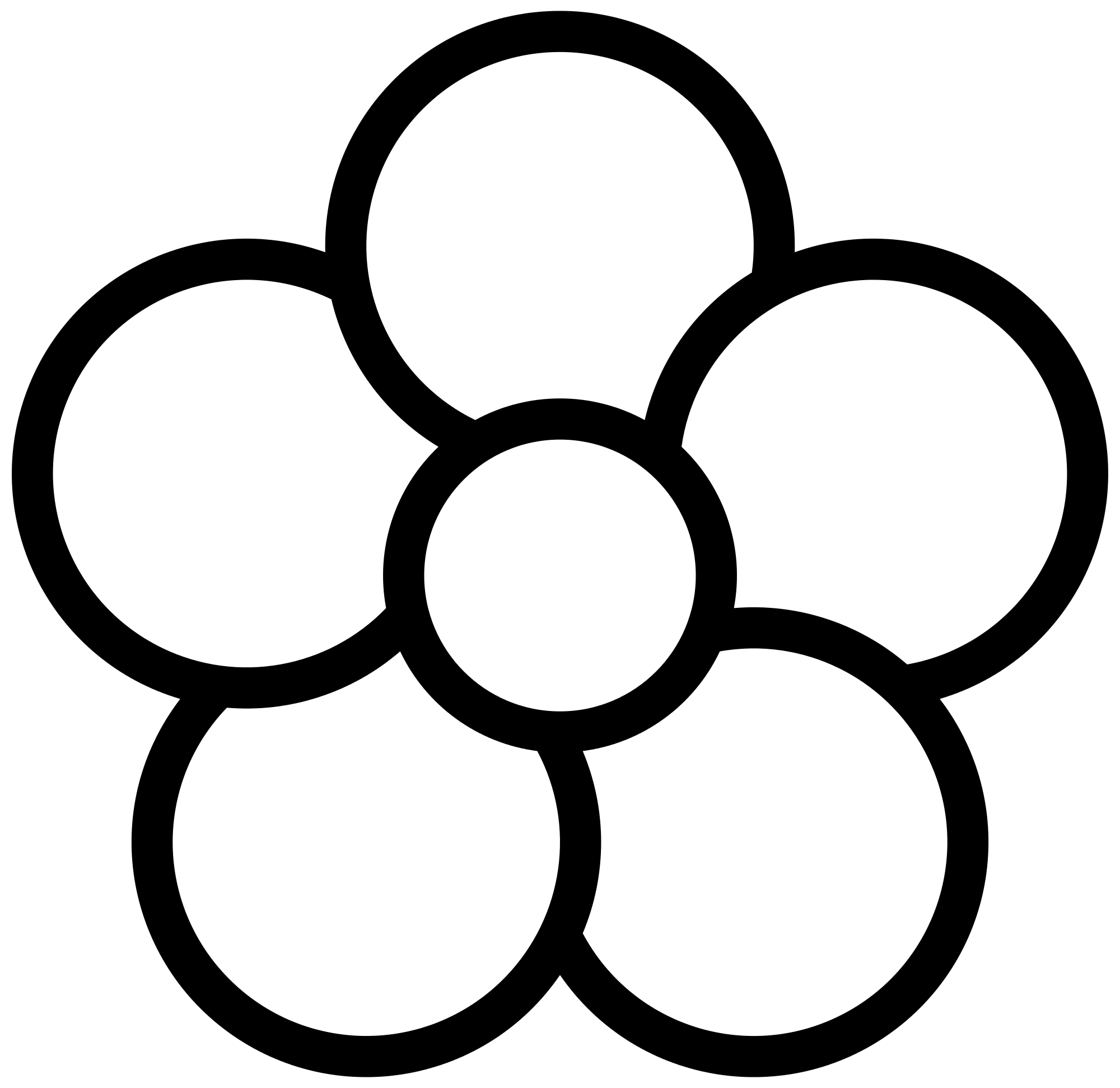 Flower black and white png. With petals images decoration