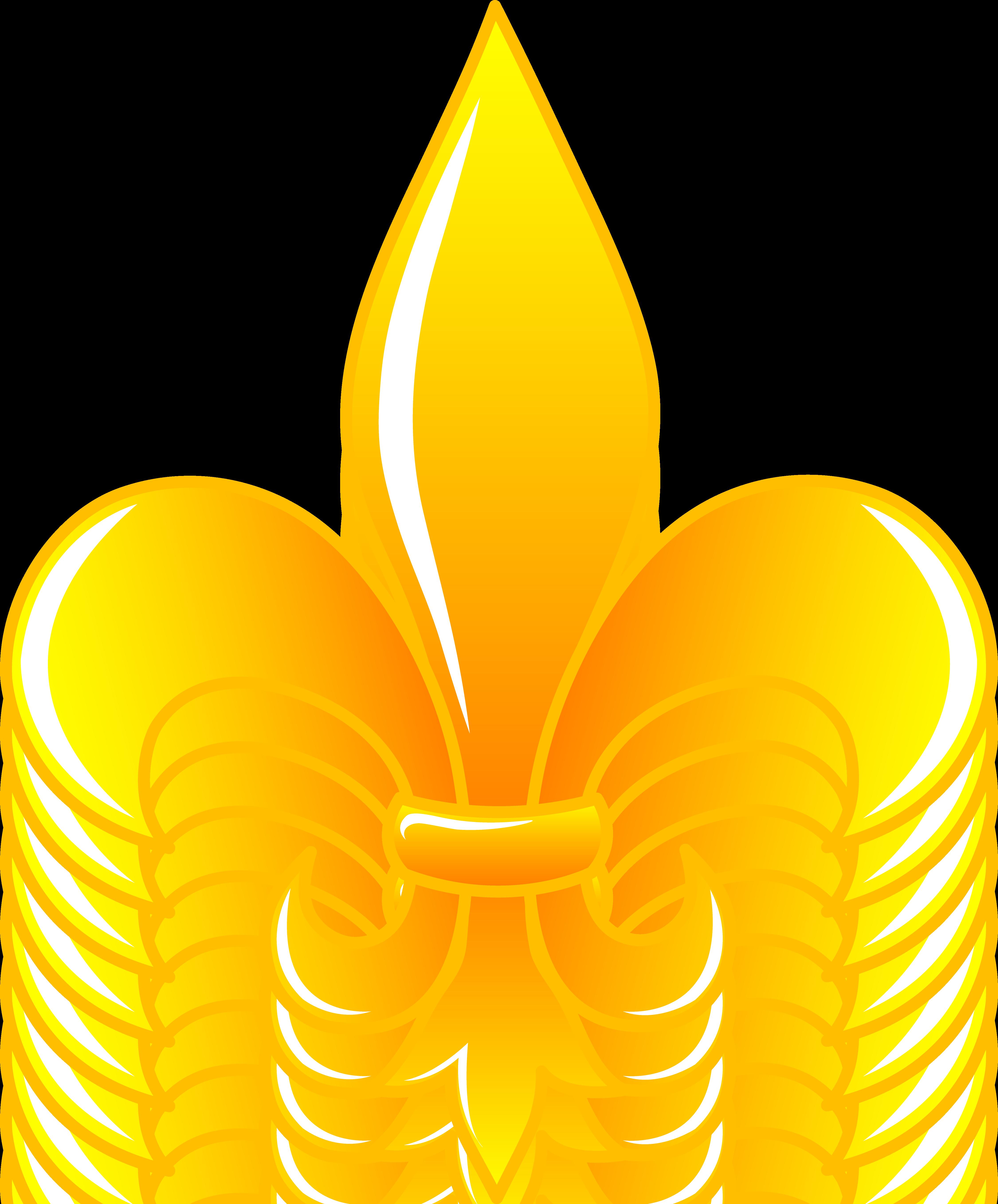 Fleur de lis shiny. Florida clipart symbol