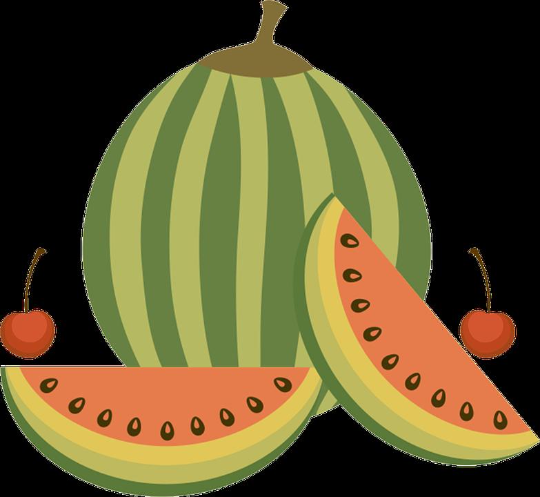 Watermelon clipart buah buahan. Trees graphics illustrations free