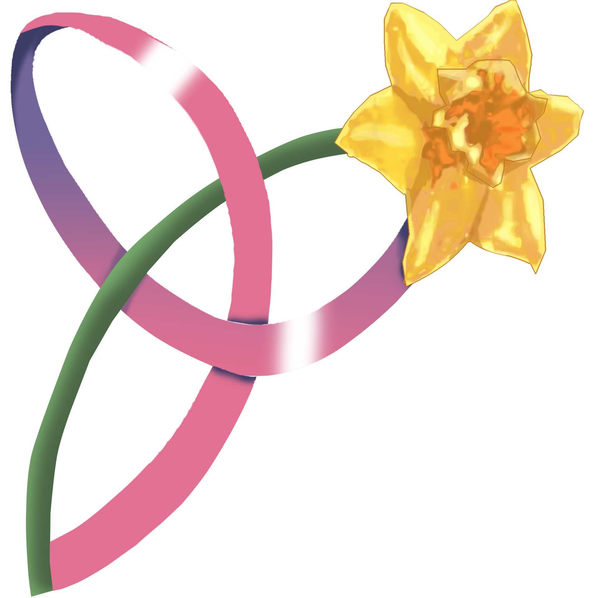 Daffodil clipart relay for life. Mary s biography k