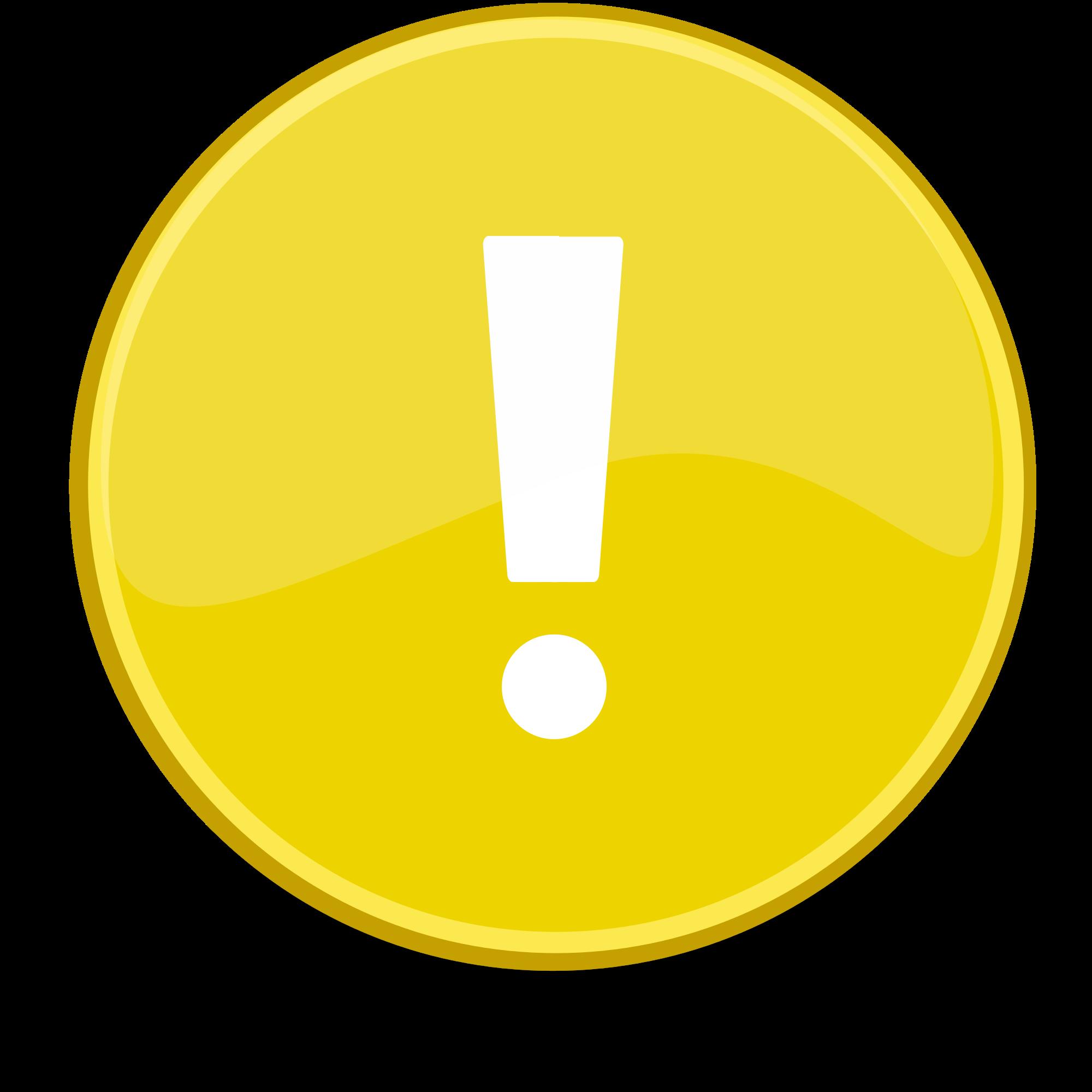 File emblem yellow svg. Important clipart important point