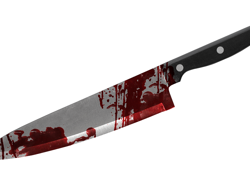 Knife with blood png.  collection of dripping