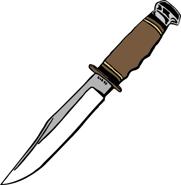 Hunting clipart knife. Blade clip art at