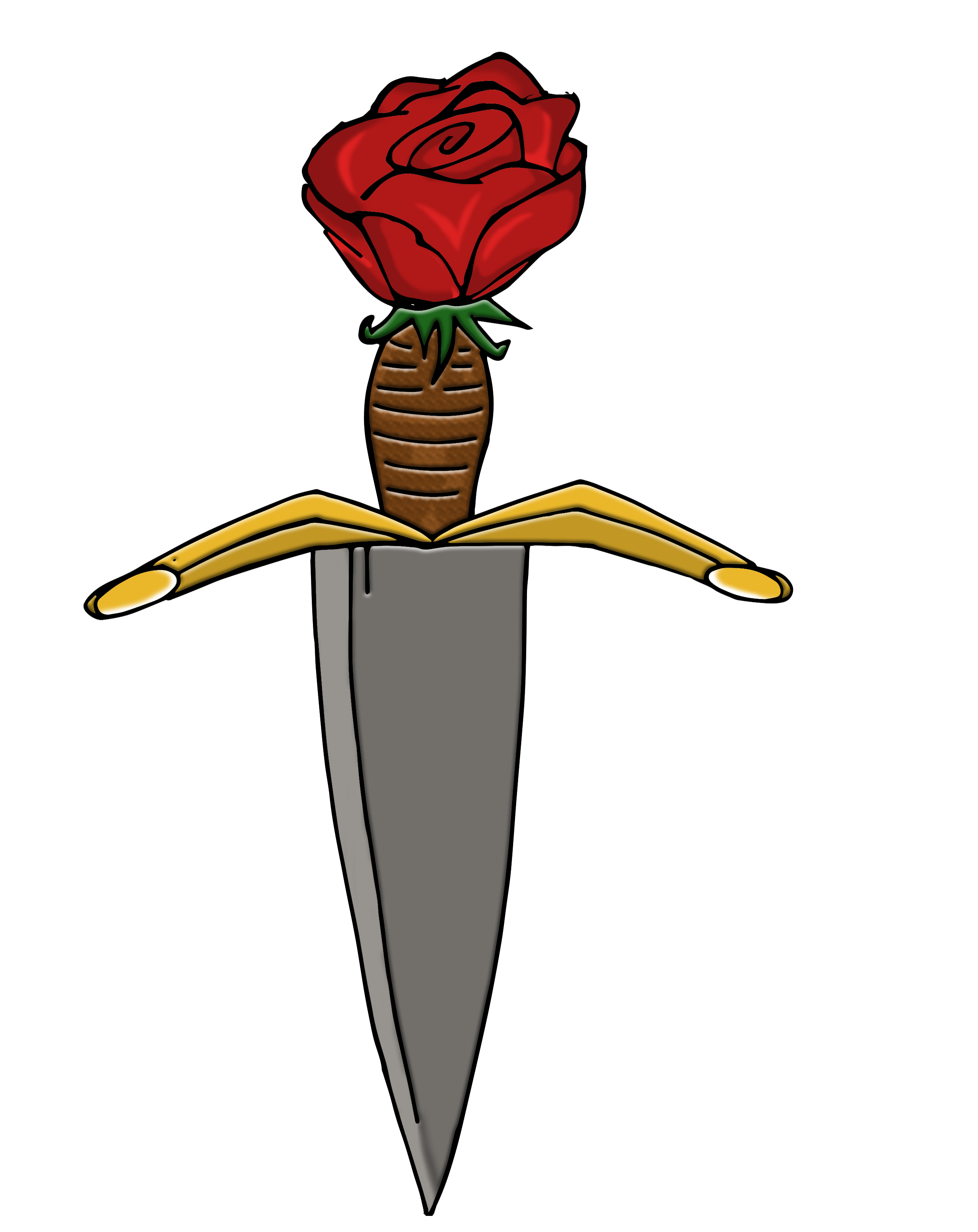 Romeo and juliet poster. Hearts clipart dagger