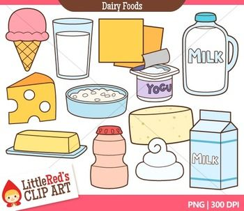 Dairy foods clip art. Milk clipart milk food