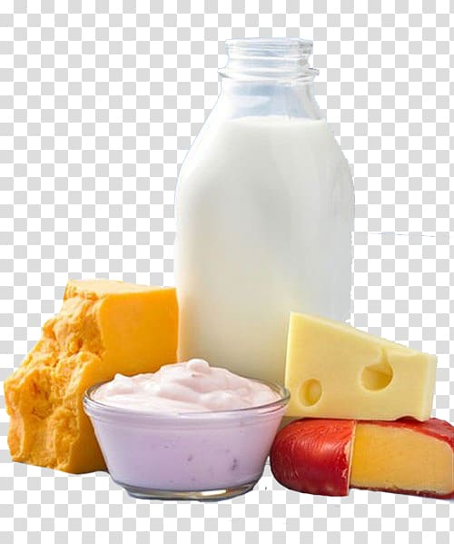 Yogurt clipart dairy product. Clear glass bottle with