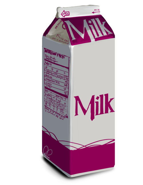 Png images free download. Milk clipart milk container