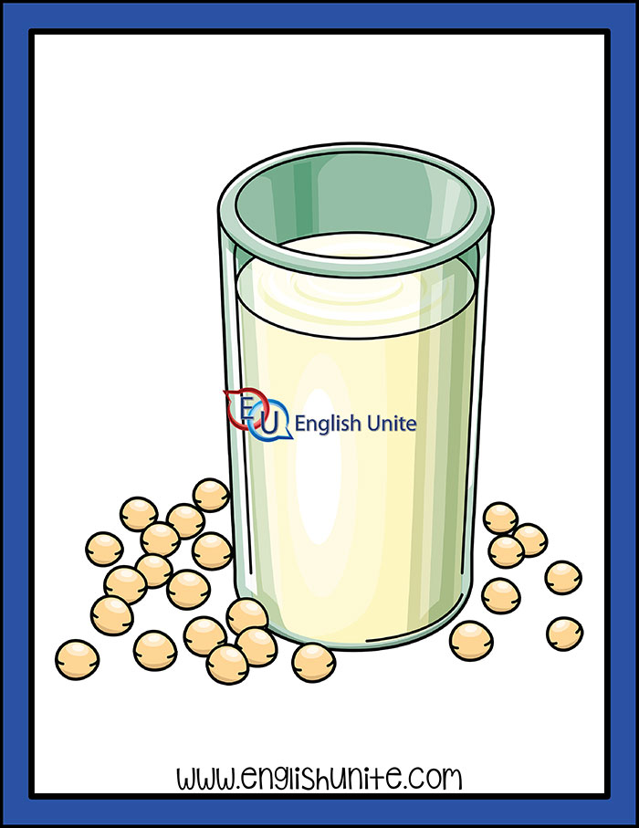 . Dairy clipart soy milk