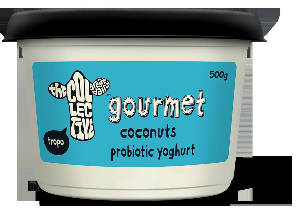 Coconuts gourmet yoghurt g. Yogurt clipart yogurt tub