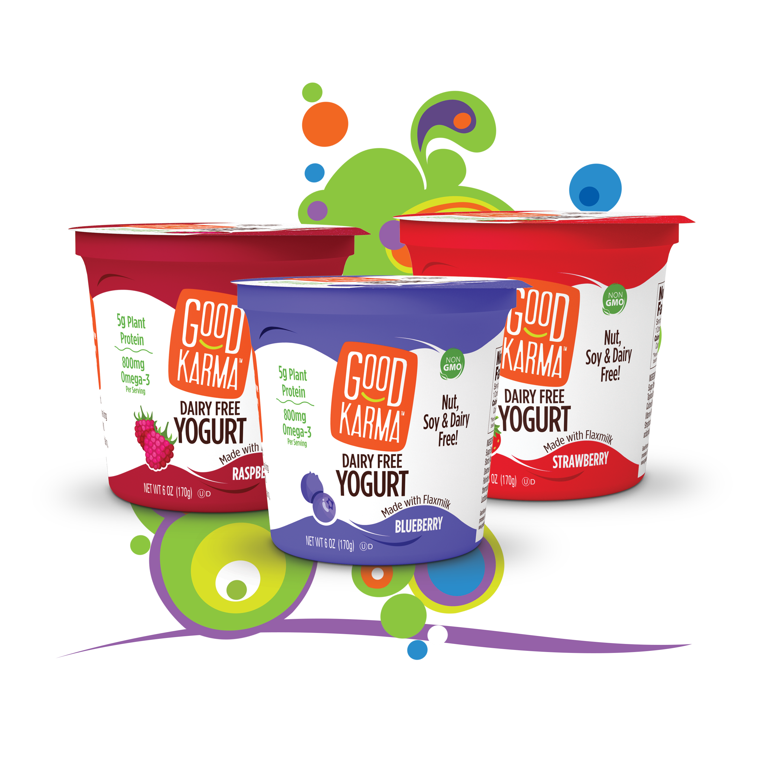 Yogurt clipart dairy product. Press good karma foods