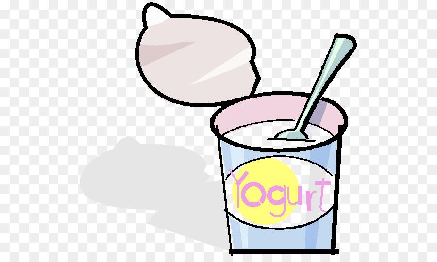 Frozen food cartoon text. Yogurt clipart milk yogurt