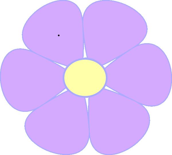 Daisy clip art at. Lavender clipart svg