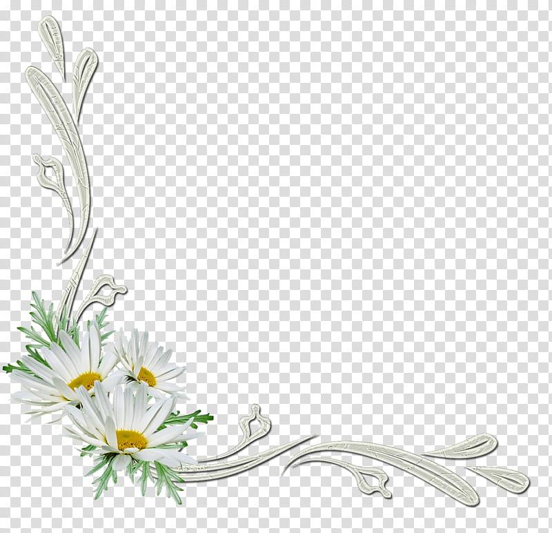 Flowers corners white daisy. Daisies clipart corner