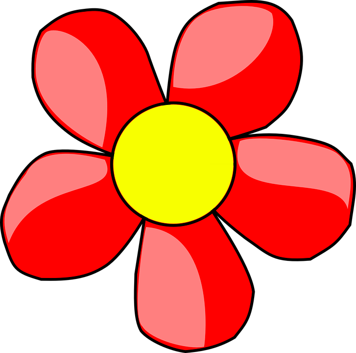 Red flower clip shop. Marijuana clipart animated