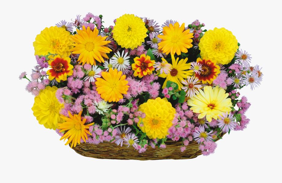 Daisies clipart flower basket. Daisy bouqet transparent of