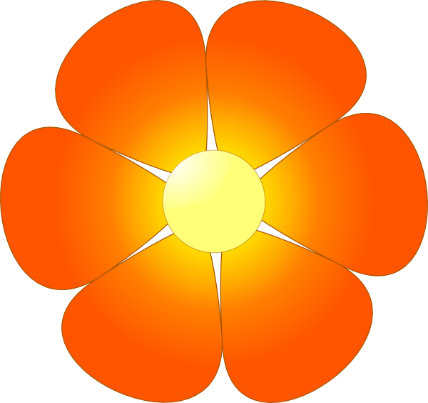 Clip art at clker. Flower cartoon png