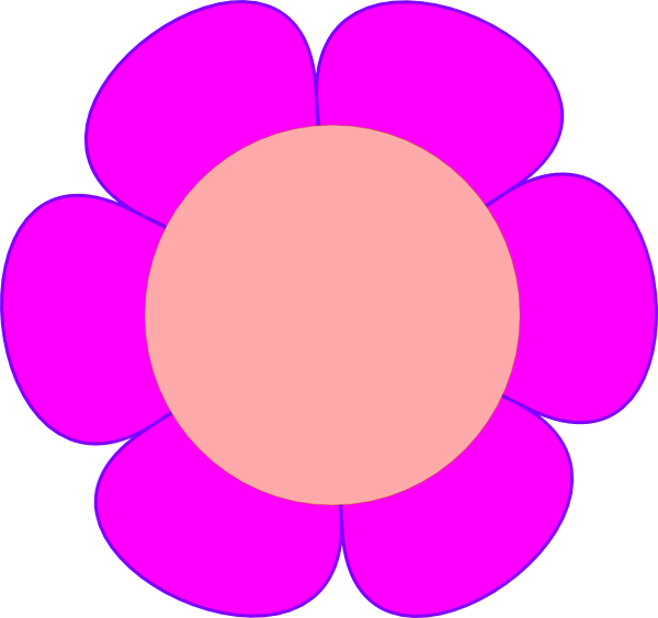 Flowers clipart circle. Flower clip art at