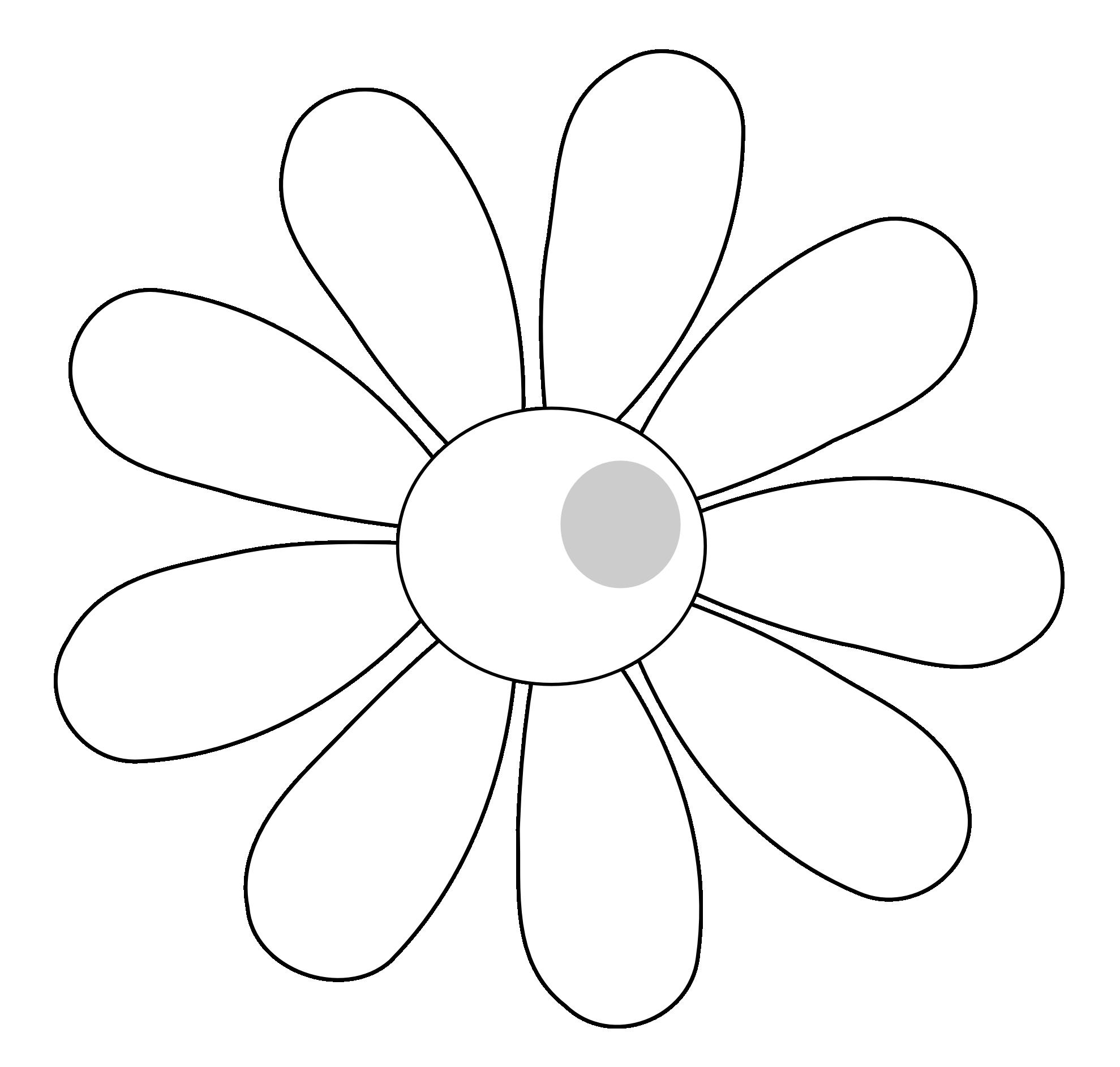 Daisies clipart flowerblack. Line art flower black