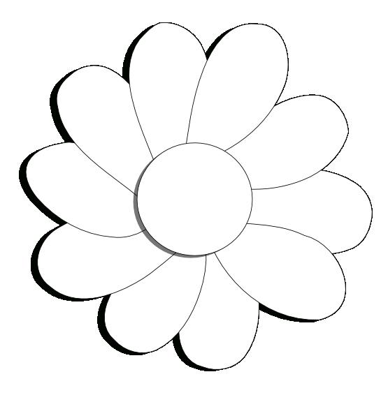 Daisies clipart flowerblack. Clipartist net clip art
