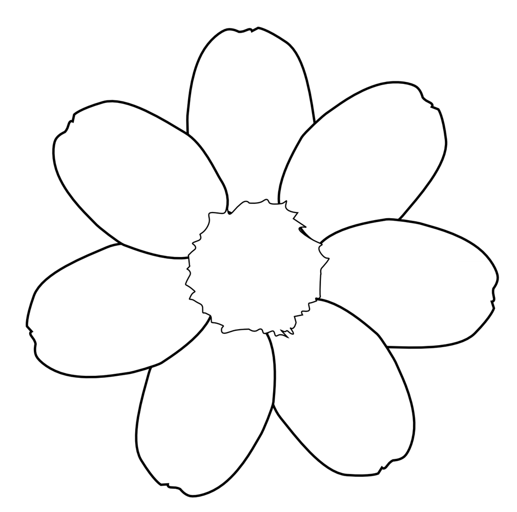 Black and white flower. Daisies clipart flowerblack