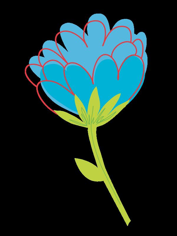 Single flower clip art. Daisies clipart flowering plant