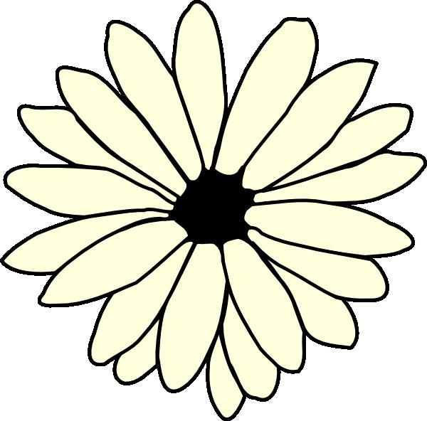 Ivory clip art at. Daisy clipart daisy chain