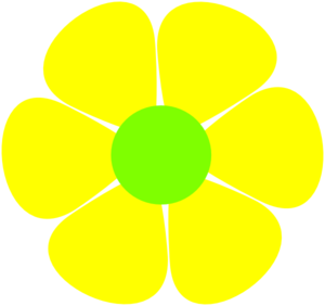 Hippie clipart yellow green flower. Free cliparts download clip