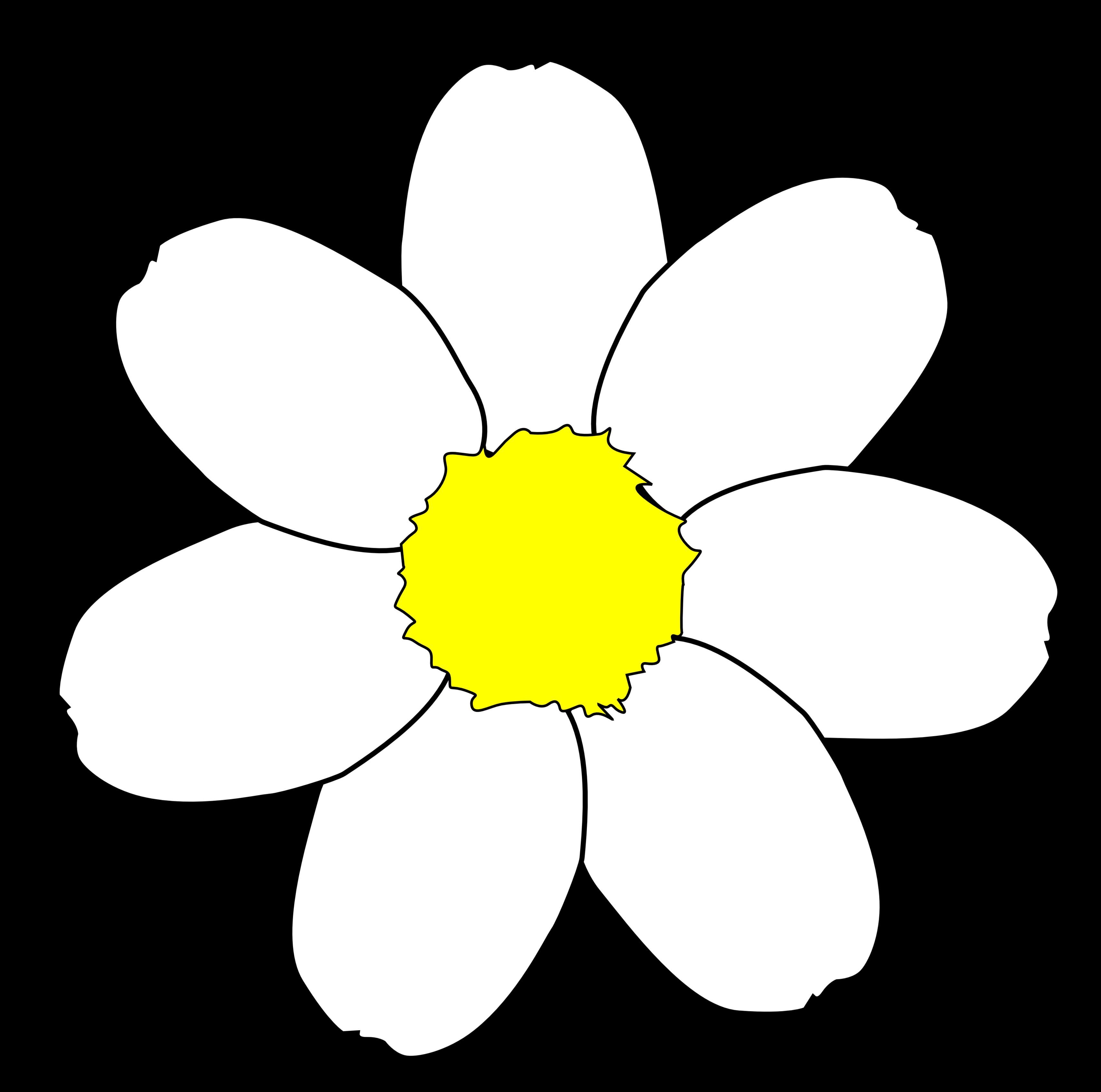 Daisy clipart daisy chain. Petal flower free collection