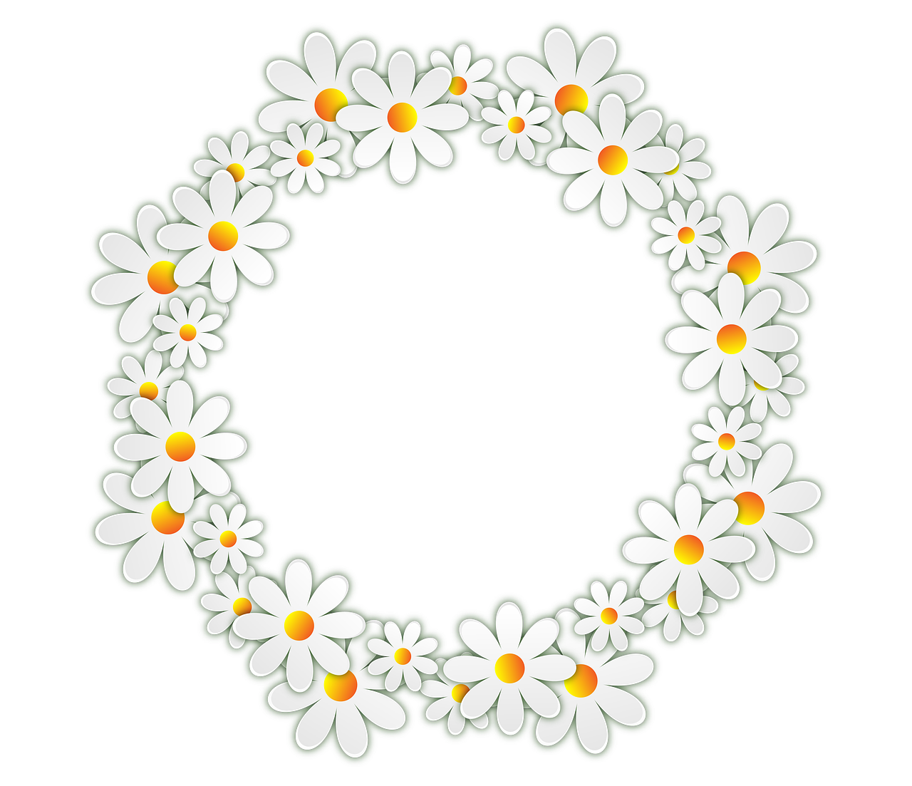 Ladybug clipart daisy. Vacation flowers photo frame