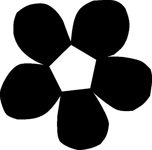 Clip art at clker. Daisy clipart silhouette
