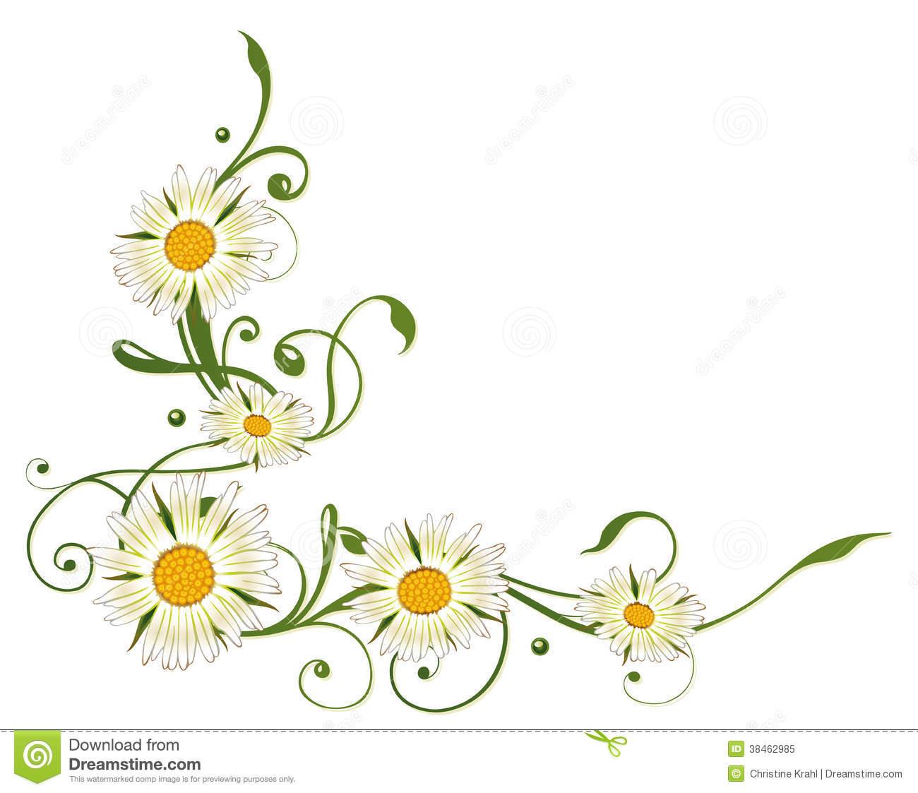 Daisies clipart vine.  daisy clip art