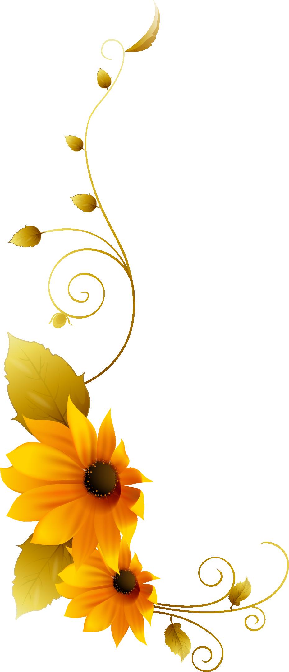 Chrysanthemum clip art yellow. Daisies clipart vine