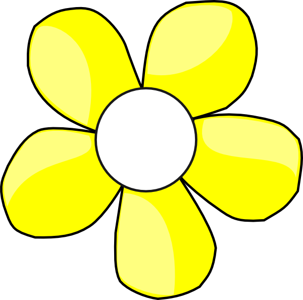Yellow and white clip. Poppy clipart daisy