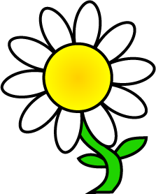 Daisy clipart. Clip art free images