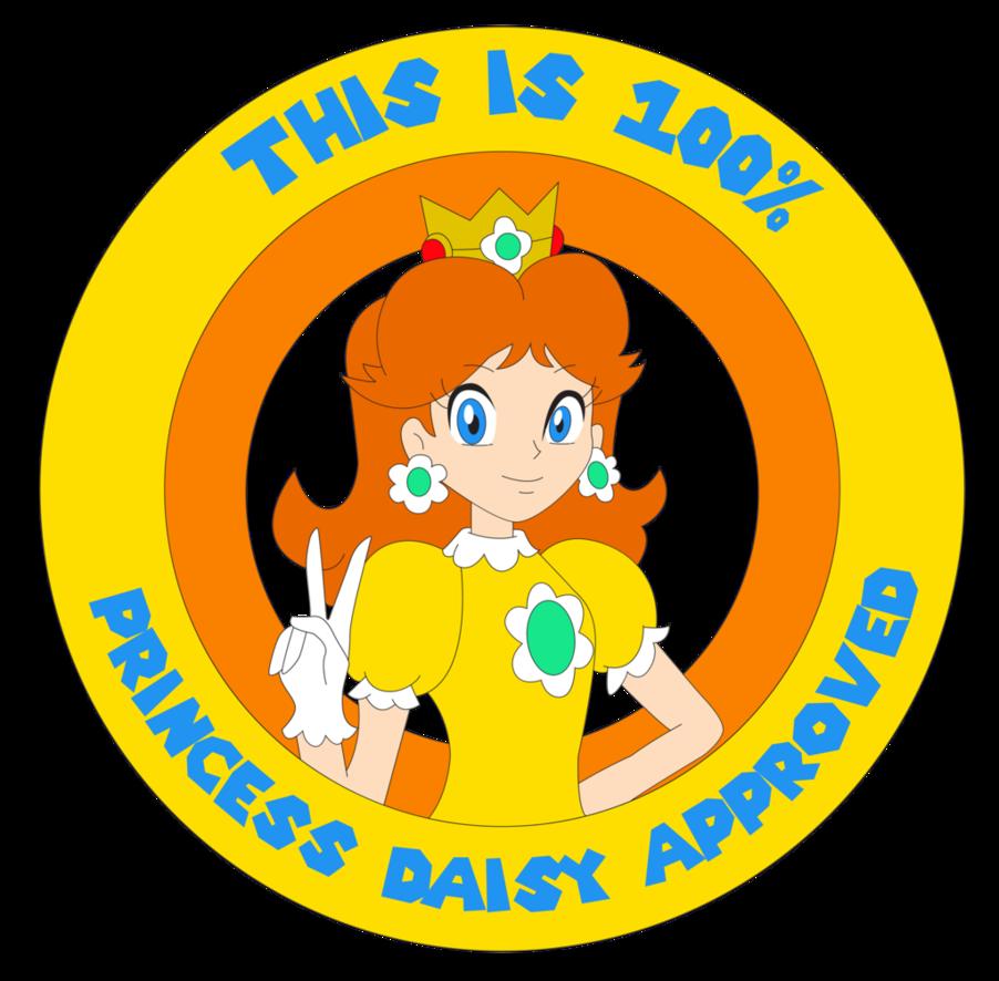 Princess seal of approval. Daisy clipart dais