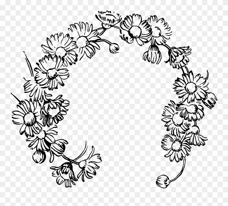 Daisy clipart daisy chain. This free icons png