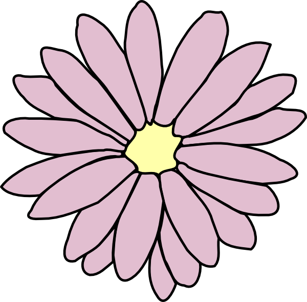 Pink clip art at. Daisy clipart daisy chain