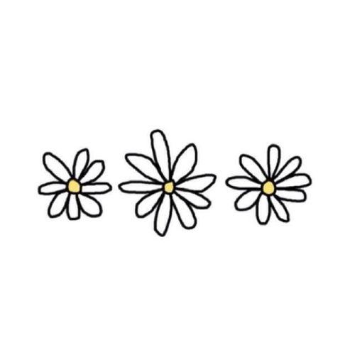 Daisy clipart daisy chain. Tumblr clip art library