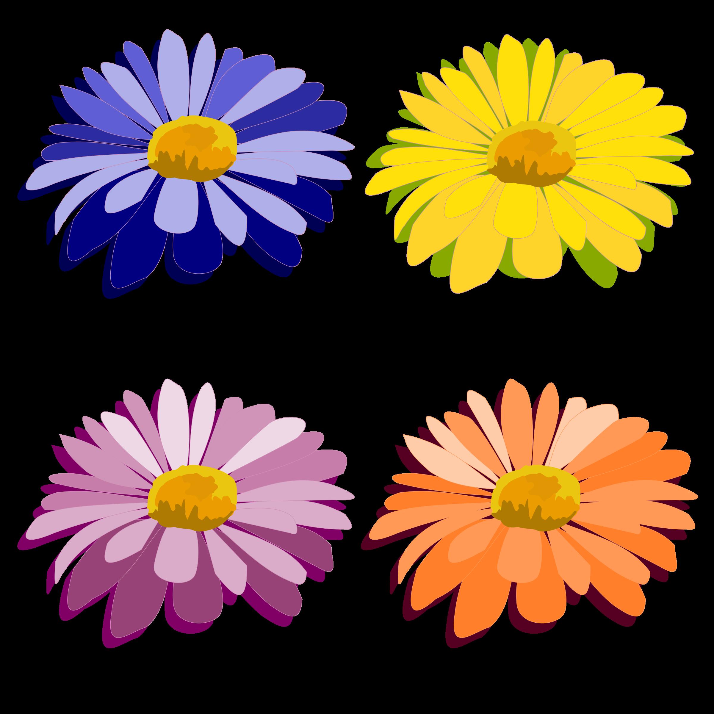 Daisy clipart landscape. Flower