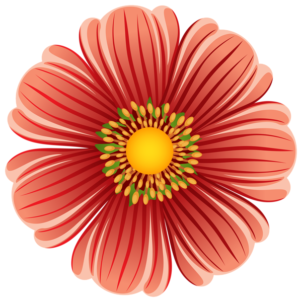 Pin by mag da. Daisy clipart large flower