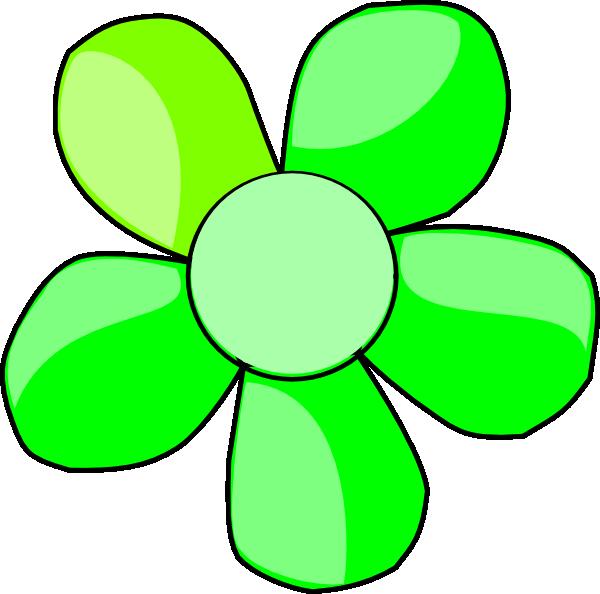 Green clip art at. Daisy clipart purple