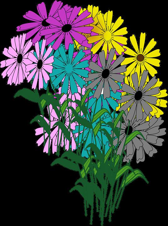Animated flower cliparts shop. Daisy clipart sad