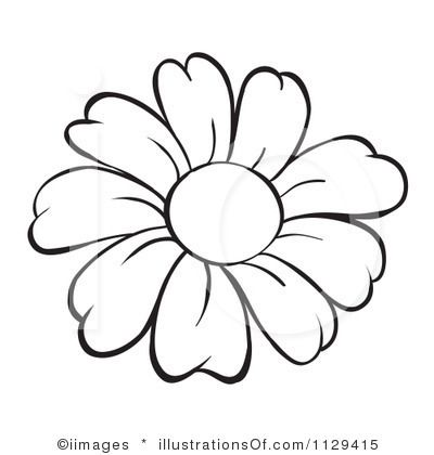 daisy clipart outline - ClipartFest in 2020 | Flower pattern drawing, Flower  outline, Flower sketches