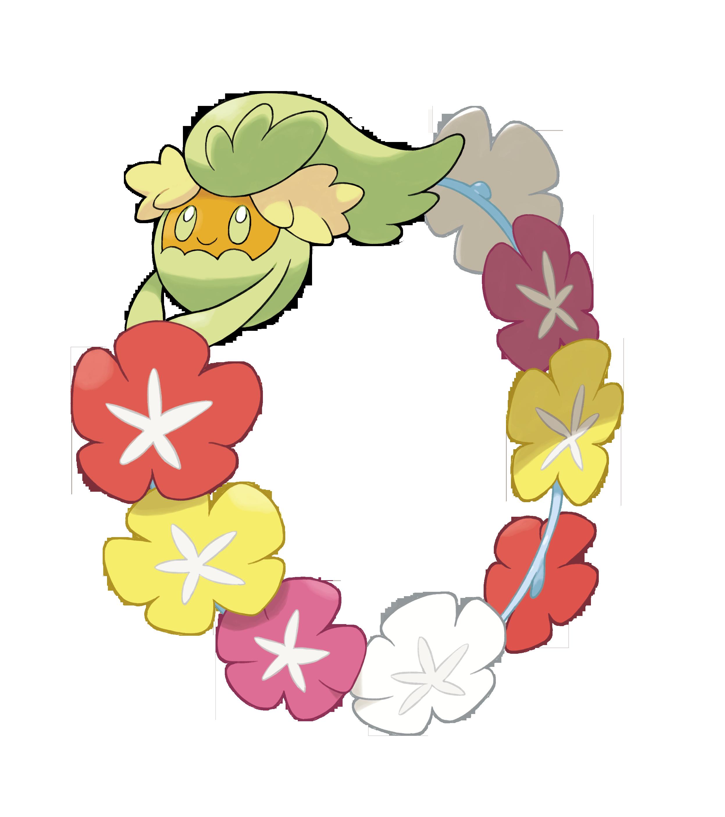 Daisy clipart six flower. Meet weird new pokemon