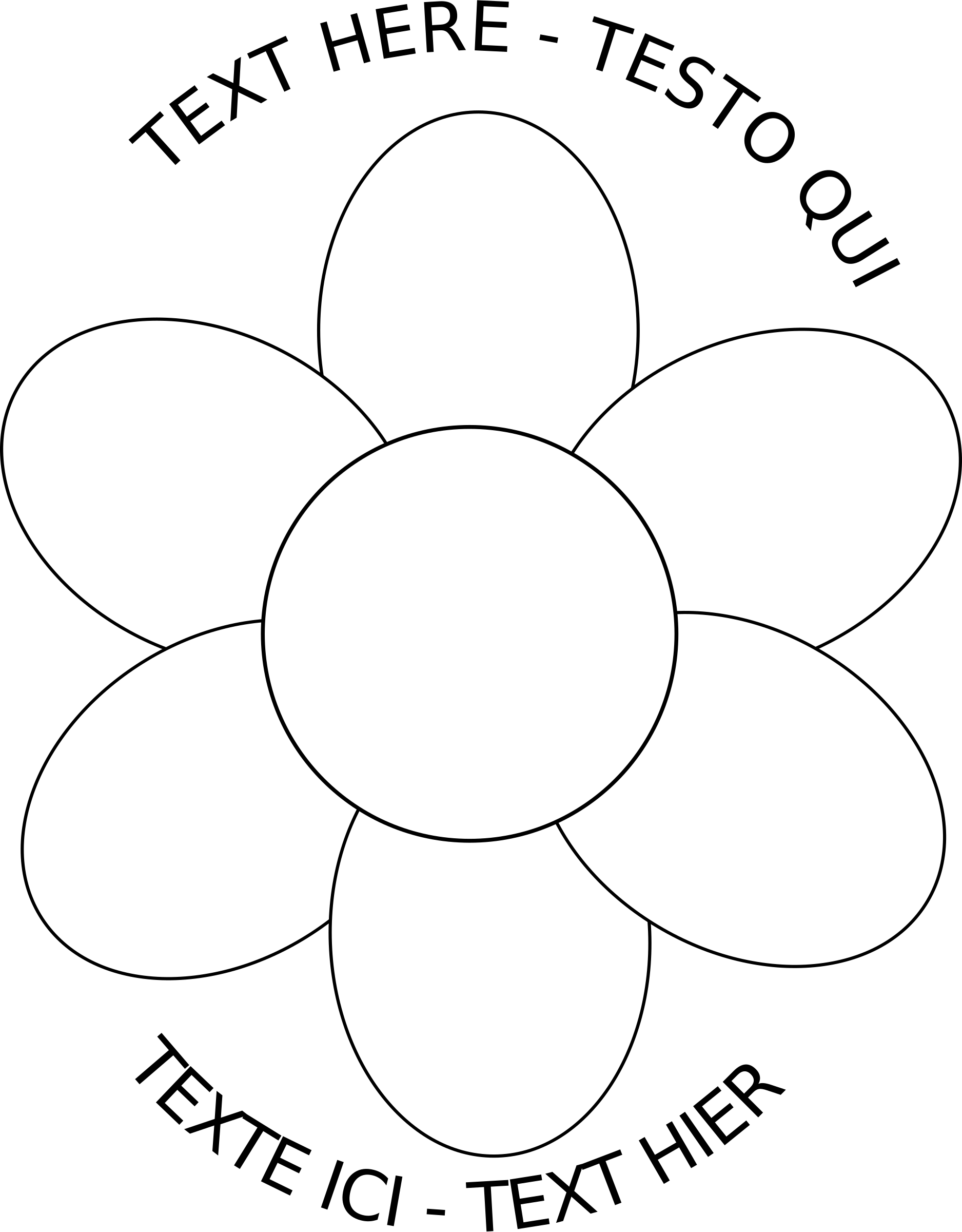 Outline for kids wallpapers. Daisy clipart six flower
