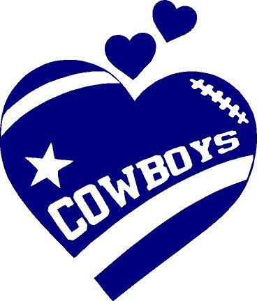 Dallas cowboys clipart. Amazon com texas heart