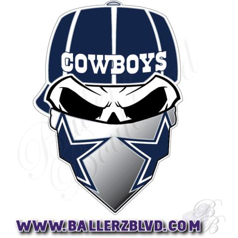 dallas cowboys clipart bandanas