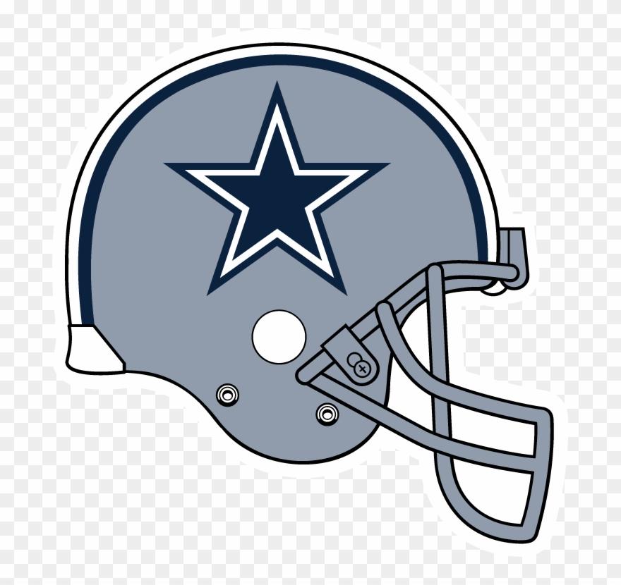 Dallas cowboys clipart big. Football helmet